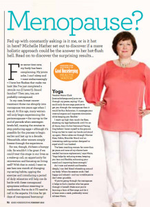 Supporting Good Housekeeping's Michelle Hather with some lifestyle changes at a key stage of life